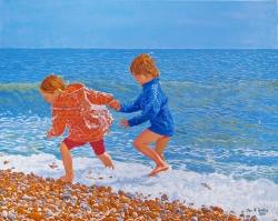 'Cold Feet' (2011) 80cmx100cmx8cm, oil on canvas (2011) 80cmx100cmx8cm