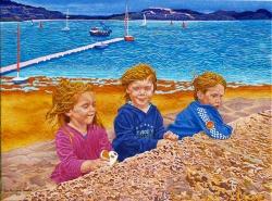 Safe Harbour' (2011) 60x80cm, oil on canvas